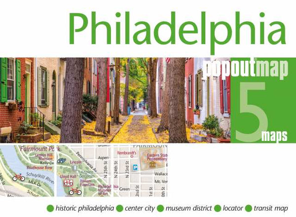 Cover of Philadelphia, Pennsylvania, PopOut Map