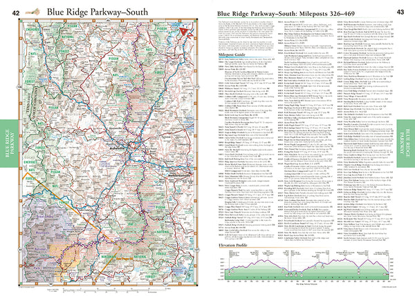 Southern Appalachians Road & Recreation Atlas