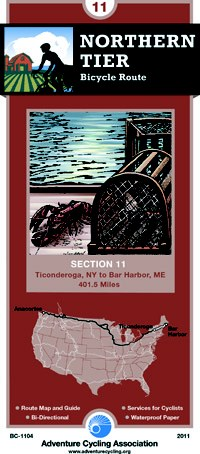 Cover of Northern Tier 11: Ticonderoga, New York to Bar Harbor, Maine
