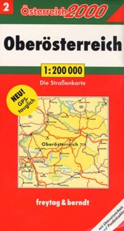 Austria, Southeast Travel Map