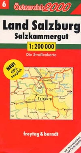 Austria, Southern Region Travel Map