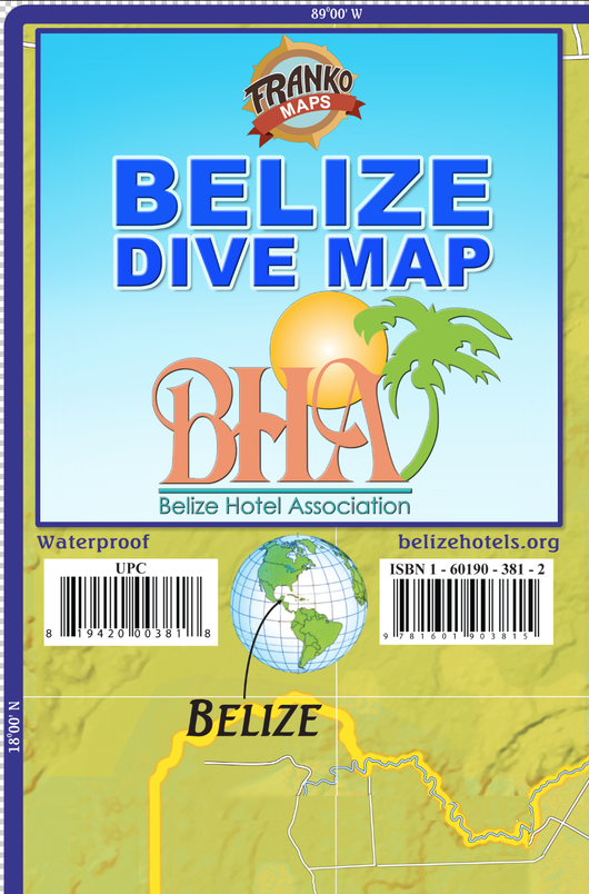 Belize Adventure & Dive Map