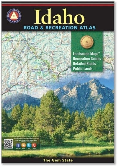 Idaho Road and Recreation Atlas