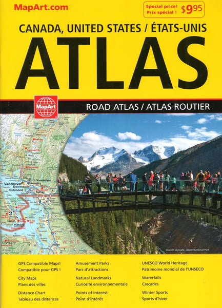 Cover of Canada Road Atlas (French/English edition)