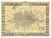 Cover of Historic Map of London in 1851 by Oxford Cartographers