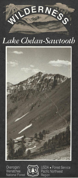 Cover of Lake Chelan-Sawtooth Wilderness Map by U.S. Forest Service
