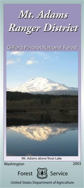 Cover of Mt. Adams Ranger District - Gifford Pinchot National Forest Map by U.S. Forest Service
