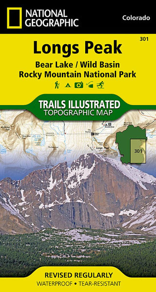 Longs Peak : Bear Lake/Wild Basin : Rocky Mountain National Park by National Geographic