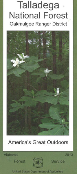 Cover of Talladega National Forest Map by U.S. Forest Service