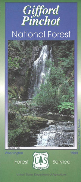 Cover of Gifford Pinchot National Forest Map by U.S. Forest Service