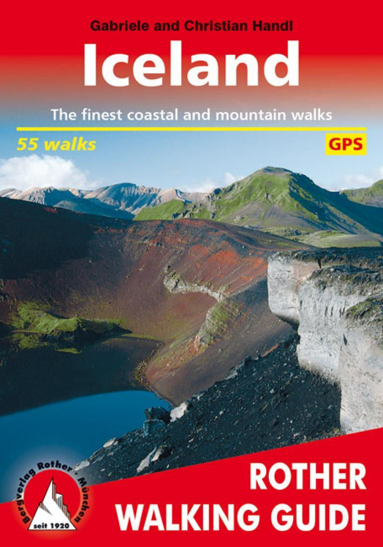 Cover of Iceland, Rother Walking Guide by Rother Walking Guide