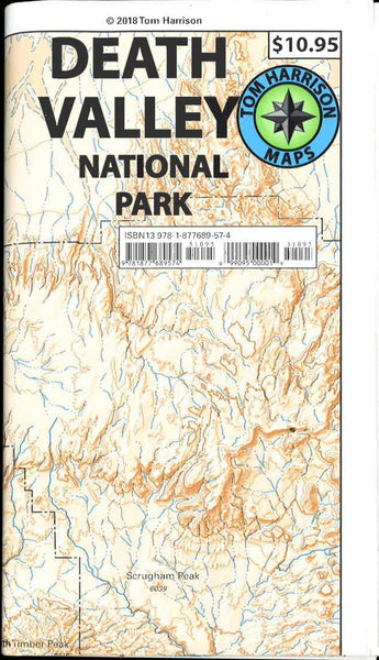 Death Valley National Park recreation map