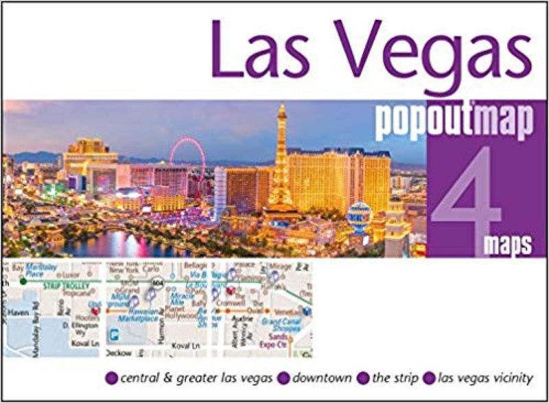 Cover of Las Vegas, Nevada, PopOut Map