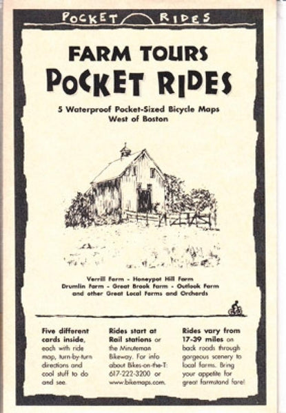 Cover of Boston, Western, Farm Tours, Lam Map Cards
