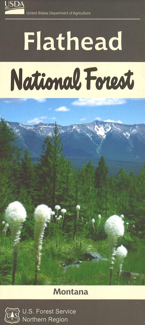 Cover of Flathead National Forest Map by U.S. Forest Service