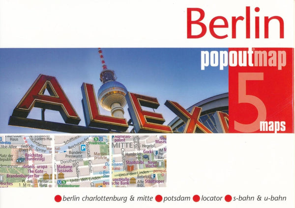 Cover of Berlin, Germany PopOut Map