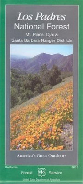Cover of Los Padres National Forest Map by U.S. Forest Service