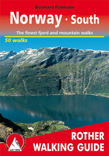 Cover of Norway, South, Walking Guide by Rother Walking Guide