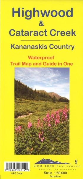 Cover of Highwood and Cataract Creek, Alberta Trail Map and Guide in One