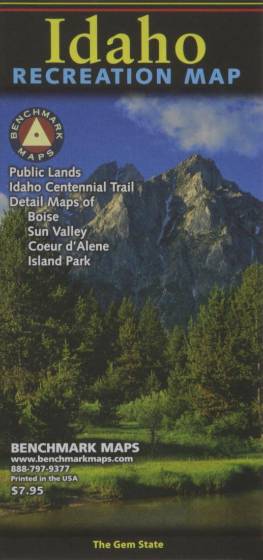 Idaho : recreation map