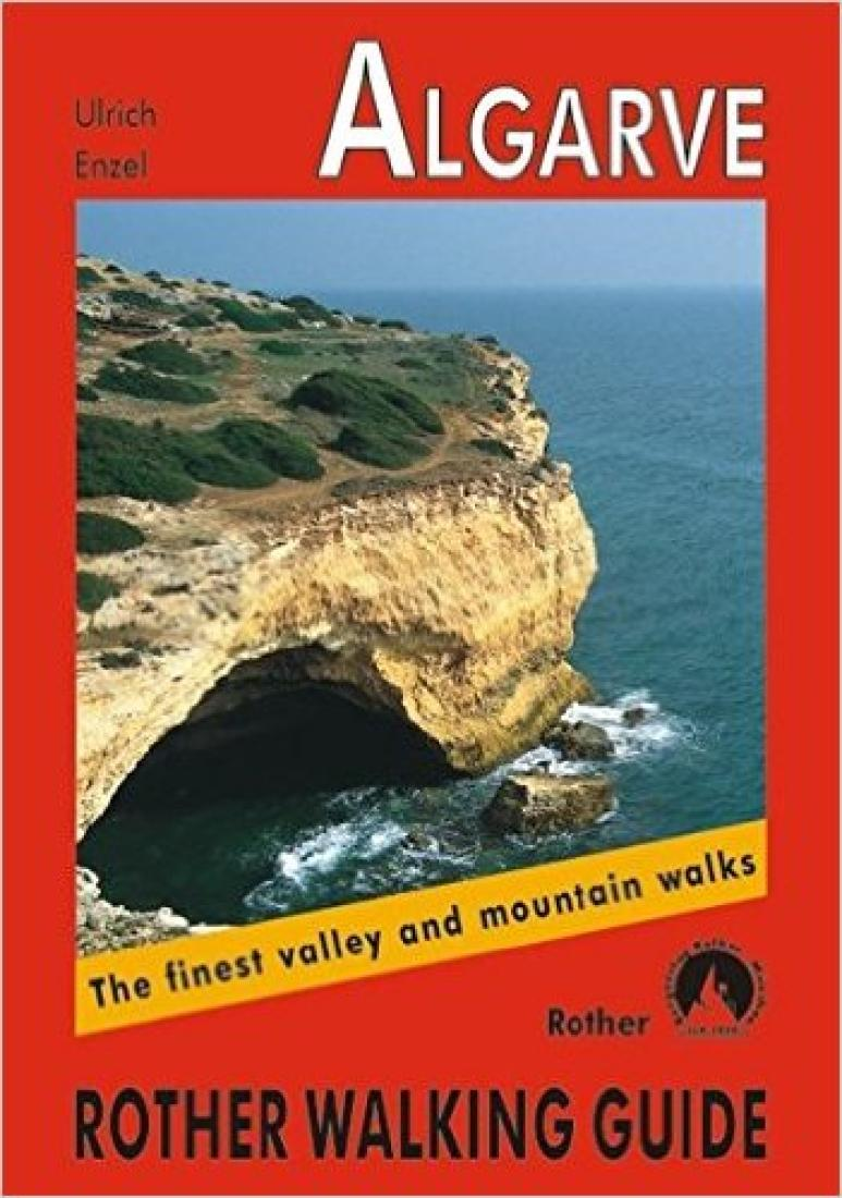 Cover of Algarve, Walking Guide by Rother Walking Guide