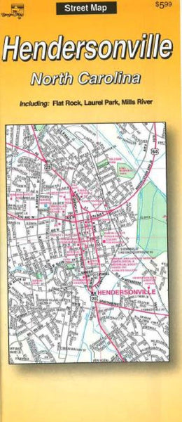 Cover of Hendersonville, North Carolina by The Seeger Map Company Inc.