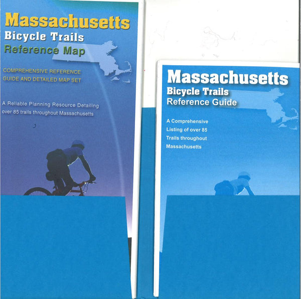 Cover of Massachusetts Trail Reference Map & Guide Set