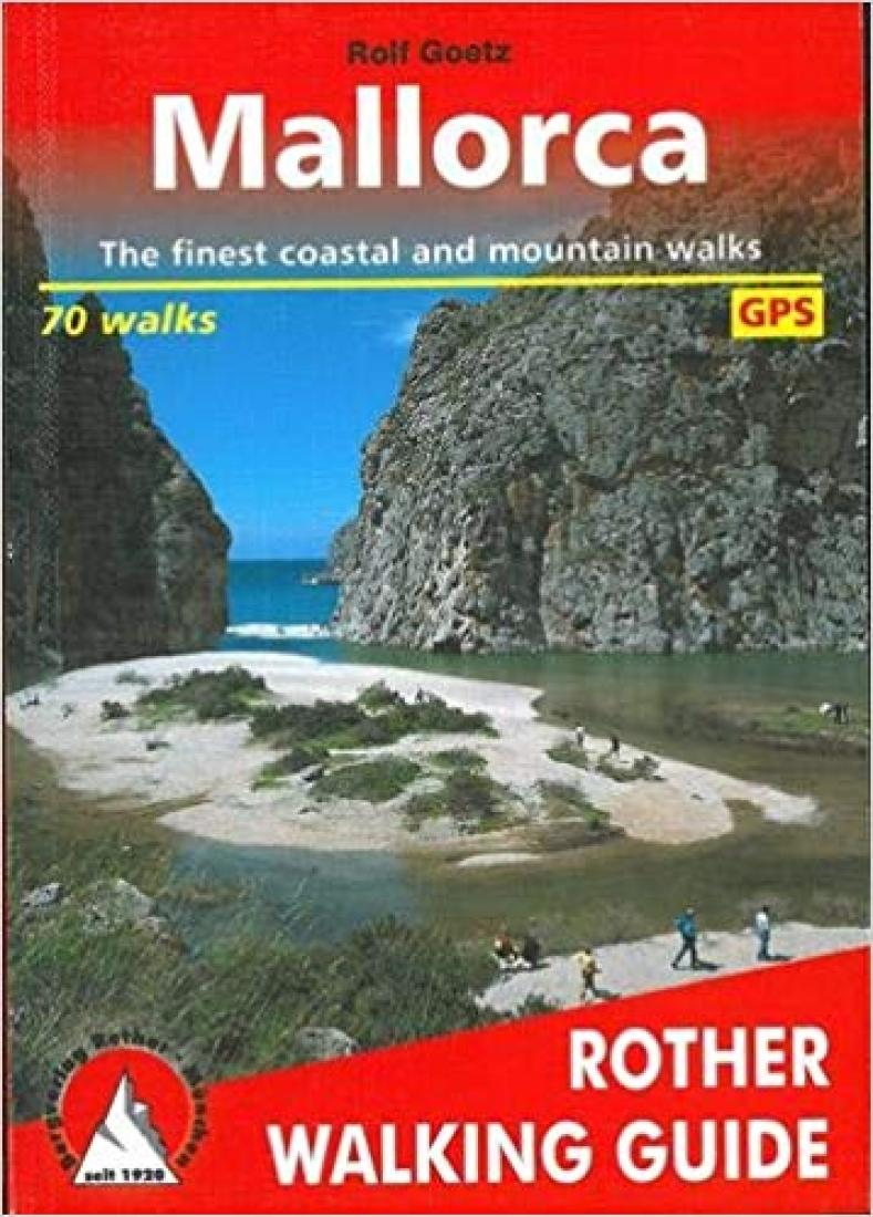 Cover of Mallorca, Rother Walking Guide by Rother Walking Guide