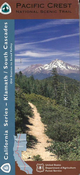 Cover of Klamath - Southern Cascades Map by U.S. Forest Service