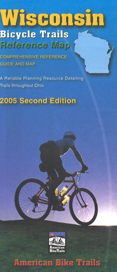 Cover of Wisconsin Bicycling Map