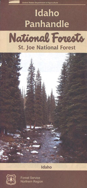 Cover of St. Joe National Forest Map by U.S. Forest Service