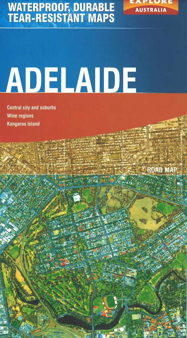Cover of Adelaide, Australia Travel Map