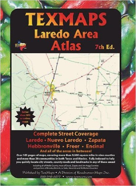 Cover of Laredo, Texas Area Atlas by Texmaps