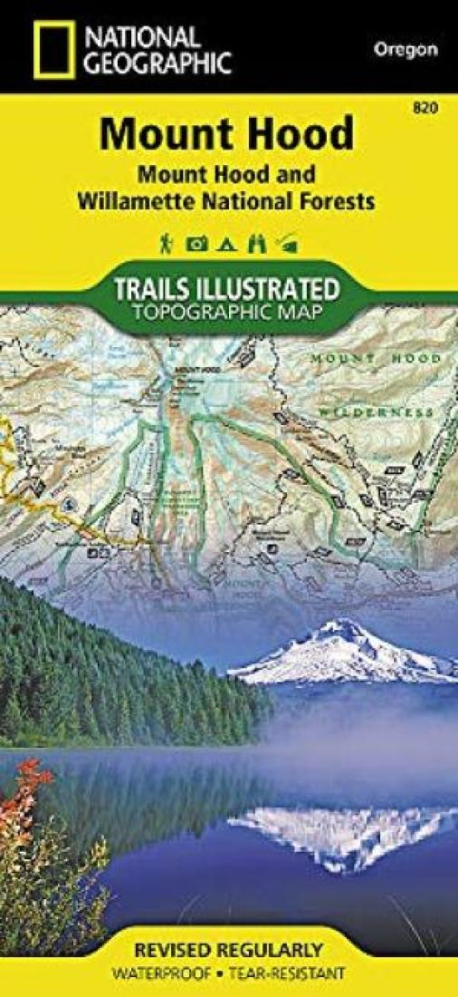 Mount Hood : Mount Hood & Willamette National Forests : Oregon, USA by National Geographic