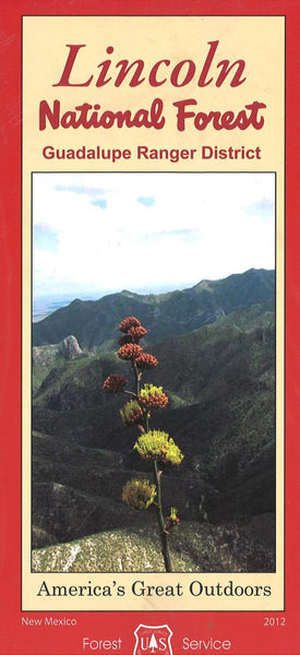 Cover of Lincoln National Forest - Guadalupe Ranger District Map by U.S. Forest Service