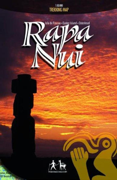 Cover of Rapa Nui / Easter Island : Travel and Trekking Map by Trekking Chile