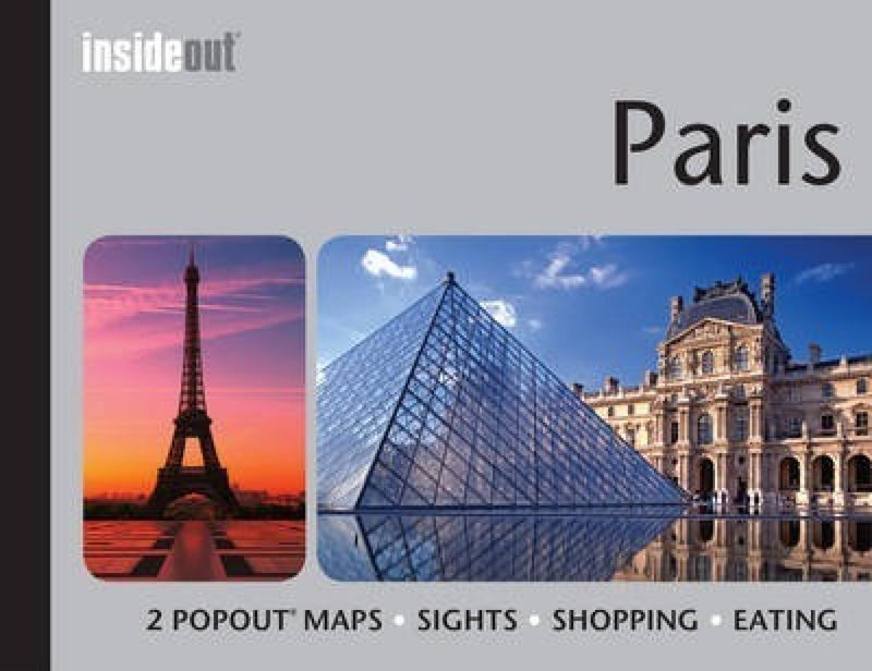 Cover of  Paris Inside Out Guide