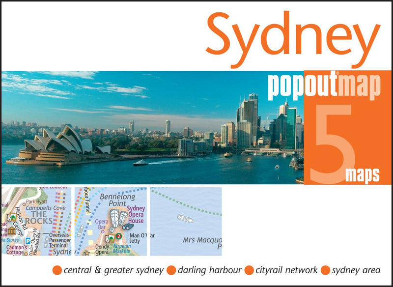 Cover of Sydney, Australia, PopOut Map