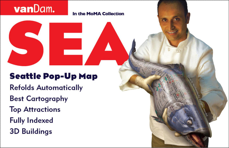 Cover of Seattle, Washington Pop-Up