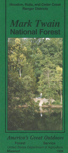 Cover of Mark Twain National Forest Map by U.S. Forest Service