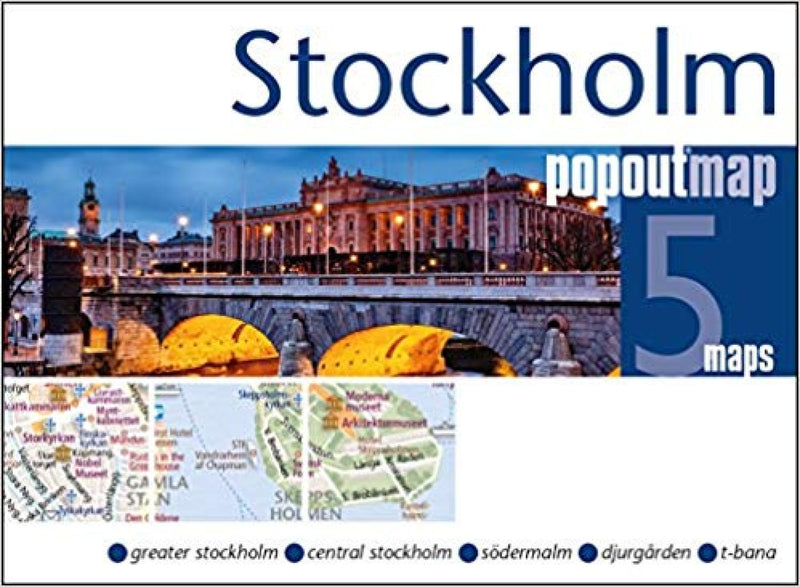 Cover of Stockholm, Sweden, PopOut Map