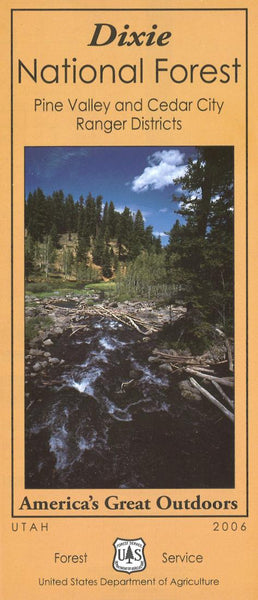 Cover of Dixie National Forest: Pine Valley and Cedar Creek Ranger Districts by U.S. Forest Service