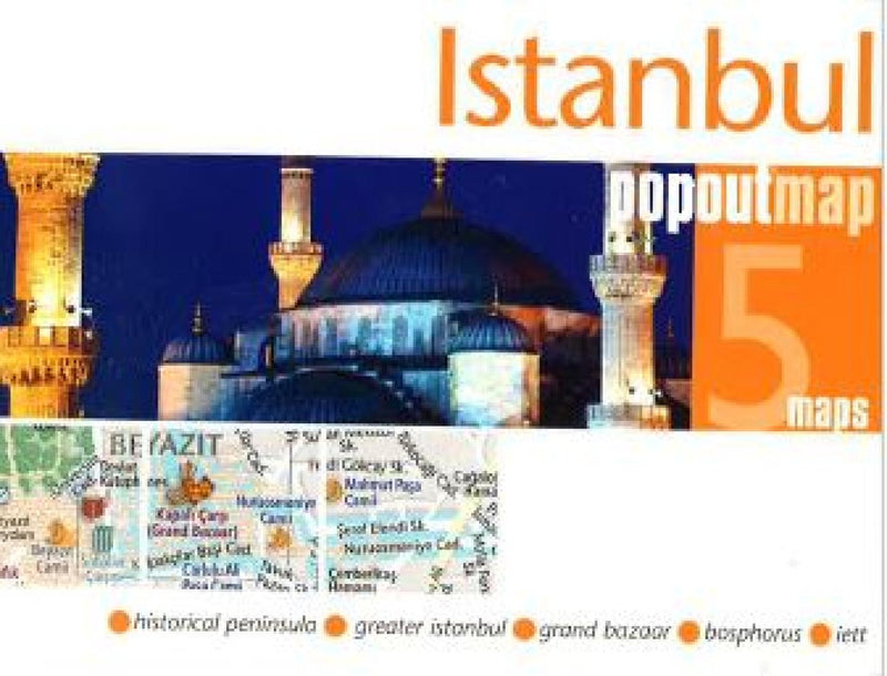 Cover of Istanbul, Turkey, PopOut Map