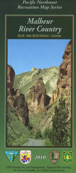 Cover of Malheur River Country Map by U.S. Forest Service