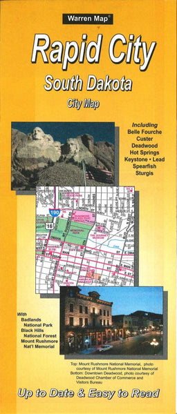 Cover of Rapid City, South Dakota by The Seeger Map Company Inc.
