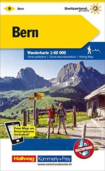 Cover of Bern : Switzerland Hiking Map #9 by Kummerly + Frey