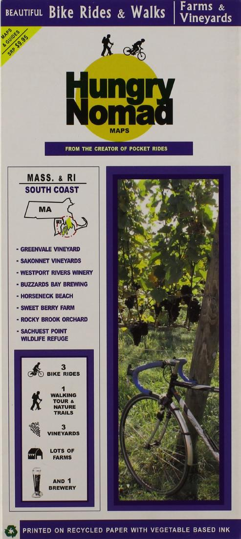 Cover of Massachusetts and Rhode Island, South Coast, Farm and Vineyards