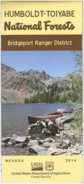 Cover of Humboldt-Toiyabe National Forest - Bridgeport Ranger District Map by U.S. Forest Service