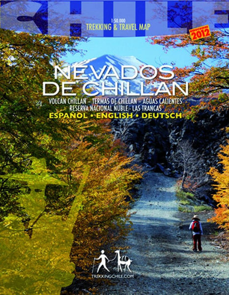 Cover of Nevados de Chillan, Chile - Trekking Map by Trekking Chile