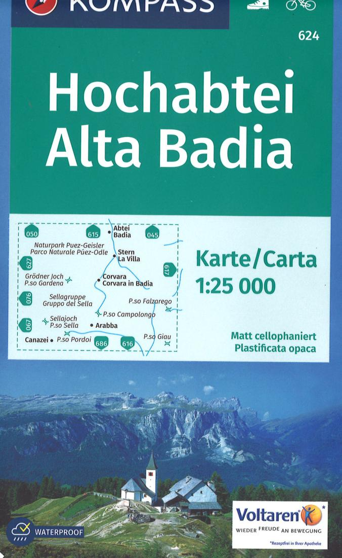 Cover of Altopiano di Asiago Hiking Map By Kompass